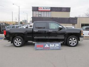 2014 Chevrolet Silverado 1500LTZ 4X4 CHROME SUNROOF LEATHER.