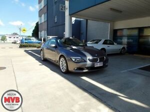 2008 BMW 650i E63 MY08 Grey 6 Speed Auto Steptronic Coupe Eagle Farm Brisbane North East Preview