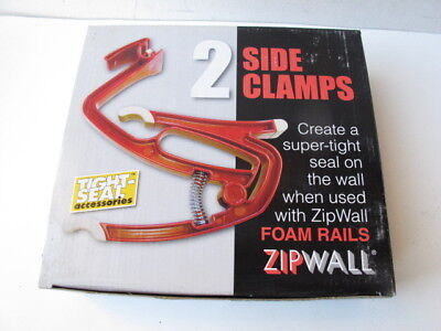 Zipwall Sc2 Tight Seal Side Clamps- 2 Pack