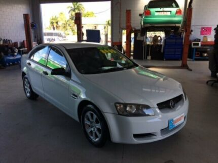 2007 Holden Commodore VE Omega White 4 Speed Automatic + O/Drive Sedan Bungalow Cairns City Preview