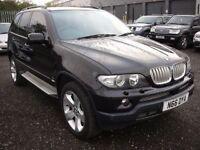 BMW X5 4.4 SPORT 5d AUTO 316 BHP FSH - Sat nav (black) 2004