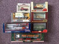 Corgi Eddie Stobart Omnibus Matchbox models Diecast vintage Die cast classic Lledo Dinky truck