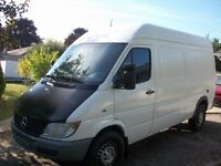 2005 Dodge Sprinter 2500 High Roof  144 WB with only163km.,