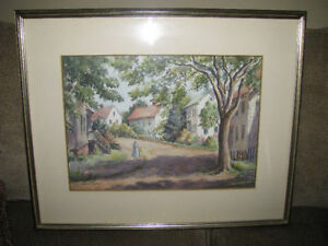 Jean Eyden original watercolor 275.00 obo,