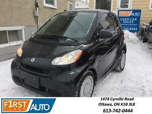 2011 Smart fortwo! Low Mileage - Extremely Clean! - No Accidents