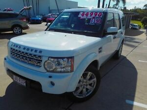 2011 Land Rover Discovery 4 Series 4 MY11 SDV6 CommandShift SE White 6 Speed Sports Automatic Wagon Noosaville Noosa Area Preview