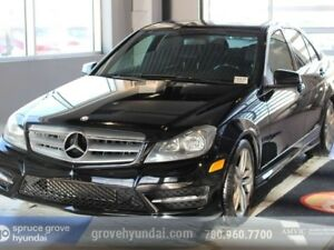 2013 Mercedes-Benz C-Class C' CLASS 300-AWD LEATHER SUNROOF & MO