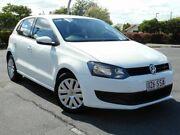 2012 Volkswagen Polo 6R MY13 Trendline White 5 Speed Manual Hatchback Chermside Brisbane North East Preview