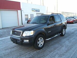 2007 Ford Explorer XLT SUV 4X4 LOADED LEATHER 3rd row seating