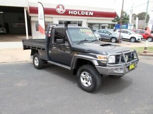 2013 Toyota Landcruiser GX Grey 5 Speed Manual Cab Chassis Young Young Area Preview