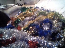 Tinsel New. Various colours and sizes available. Please see listing for more info, sizes and prices.