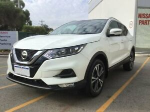 2018 Nissan Qashqai J11 Series 2 ST-L X-tronic White 1 Speed Constant Variable Wagon Midvale Mundaring Area Preview