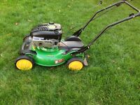 John Deere JS63 self propelled 6.75HP Lawn mower