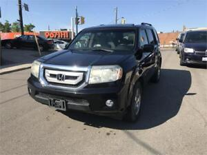 2009 Honda Pilot EX-L auto/7pass/cam/leather/noaccid/certified