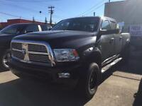 REDUCED 2012 RAM 3500 CREW CAB 4X4 LIMITED WITH LOW KS