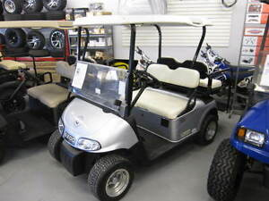 2013 EZGO RXV SILVER GOLF CART ELECTRIC48V