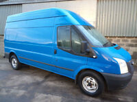 Ford Transit 350 125 LWB high roof van 2012 12 reg