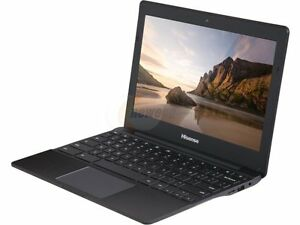 "Portable Hisense Chromebook 11.6"" 1.8GHz Quad-Core, 2Go RAM, SSD"