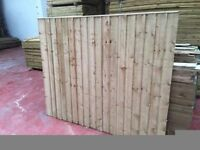🌟 Superior Quality Heavy Duty Feather Edge Fence Panels
