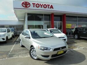 2012 Mitsubishi Lancer CJ MY12 ES Silver 6 Speed CVT Auto Sequential Sedan Belmore Canterbury Area Preview