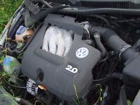 VOLKSWAGEN GOLF MK4 ENGINE 2.0 IN VERY GOOD CONDITION Breaking in GATWICK