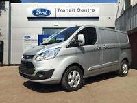 NEW Ford Transit Custom 2.2TDCi 155PS 290 L1H1 Limited in Silver + LED - Onsite