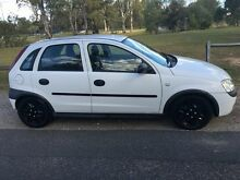 2001 Holden Barina XC White 4 Speed Automatic Hatchback Salisbury Brisbane South West Preview