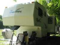 Fifth-wheel Travelaire Glendale 2001