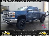 2015 Chevy Silverado BDS 6in LIFT 35in Tires $407 BiWkly OAC