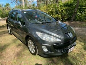 2008 Peugeot 308 T7 XSE Touring Wagon 4dr Spts Auto 4sp 1.6i Grey Sports Automatic Wagon Sheldon Brisbane South East Preview