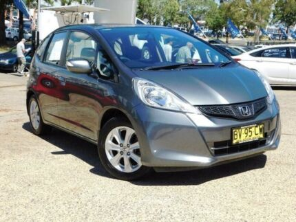2013 Honda Jazz GE MY12 Vibe Grey 5 Speed Automatic Hatchback Belconnen Belconnen Area Preview