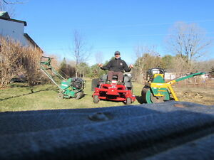 SPRING CLEANUPS. AERATION. LAWN ROLLING