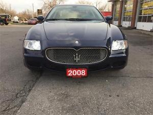 2008 Maserati Quattroporte|NAV|CAM|SUNROOF|LEATHER|NO ACCIDENTS Oakville / Halton Region Toronto (GTA) image 8
