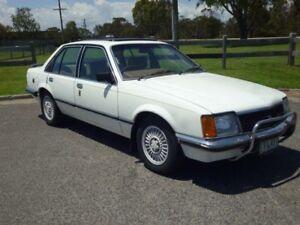 1981 Holden Commodore VC SL/E White 3 Speed Automatic Sedan