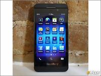 Blackberry z10 16gb memory built in, quad core 2gb ram