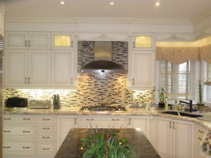Cheapest price for kitchen cabinets, refacing & paint spray
