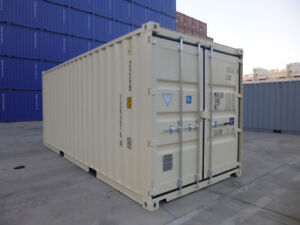 NEW 20' One-Trip Shipping Containers/Seacans for SALE!!