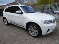 BMW X5 3.0 X-Drive 40d M Sport, Diesel, Auto, HUGE SPECIFICATION, £10,000 of Factory Fitted Options
