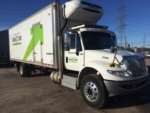 2015 International 4400 SBA 4X2, Used Reefer Van