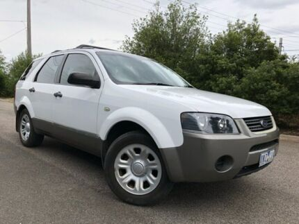2006 Ford Territory SY TX (RWD) White 4 Speed Auto Seq Sportshift Wagon Hoppers Crossing Wyndham Area Preview