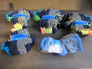 "Socks, ""trimfit"" shoe sizes 11 - 4 & 4 - 10, Br.New in 8-pks"
