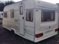 Avondale Dart 470 - 4 Berth Caravan - Great condition - comes with 2 awnings!