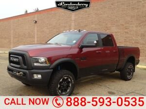 2018 Ram 2500 4WD CREW POWERWAGON Accident Free,  Heated Seats,