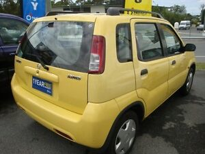 2002 Suzuki Ignis Yellow Manual Liftback Eight Mile Plains Brisbane South West Preview