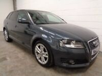 AUDI A3 2.0 TDI 2010/10, ONLY 44000 MILES, YEARS MOT, FULL HISTORY, WARRANTY,FINANCE AVAILABLE