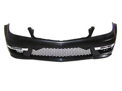 Mercedes Benz C Class 2012-2014 W204 C63 AMG Style Front Bumper without PDC