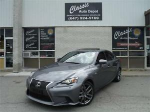 2014 Lexus IS 350 F SPORT AWD **CERTIFIED** NAV**CAM**