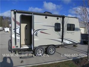**FAMILY HYBRID TRAILER ** CLEARANCE!!! FOR SALE $3,000 OFF