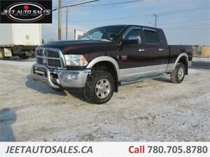 2012 Ram 3500 Loaded Laramie 4x4 Mega Cab Limited Diesel