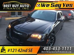 2015 Chrysler 300-Series S  AWD / EVERYONE APPROVED / CASH
